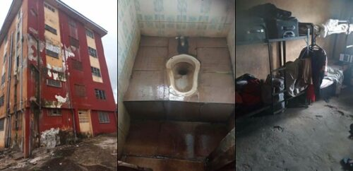 "Students of Madonna University Okija have been asking the school management to help renovate some of their dilapitated hostels for a while now, but it seems nothing has been done about it. Photos showing how bad and unhealthy the school hostels look have since gone viral on social media. A Facebook user identified as Nwankwo Ogbonna took to the platform to speak about the deplorable state of hostels in some Nigerian Universities and how it affects the students. Read below. ""This is why most Nigerian graduates are useless and unproductive because they are the products of their environments. This is the deplorable state of the almighty Madonna university Okija hostels, a private university for that matter and one of the expensive Universities in Nigeria. Despite the huge fees collected by the school the management can not create a conducive learning environment for their students. And these graduates and undergraduates of the school don't see anything wrong in these things that's why they can live here happily and suffering . Our people have lost it all , that is why private schools should not be left in the hands of Nigerian individuals because they are like church owners now , just make money and return nothing , is very pathetic ,for these dilapidated and pig like hostels are not fit to house humans"