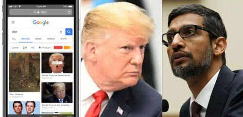 Why Trump's pictures appear when you Google 'Idiot' – Google CEO explains