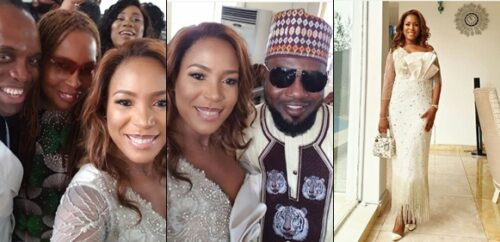 Photos from Linda Ikeji's Son's Thanksgiving Service