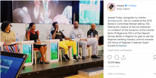 CBN Governor Emefiele allegedly tells Mr Eazi 'Your dreadlocks are irresponsible' lailasnews 1
