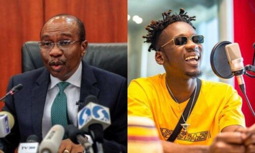 CBN Governor Godwin Emefiele allegedly tells Mr Eazi 'Your dreadlocks are irresponsible' lailasnews