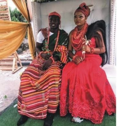 Etebo Oghenekaro weds mother of his child in Warri lailasnews  2