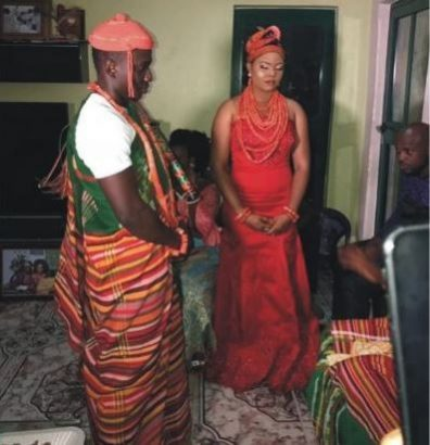 Etebo Oghenekaro weds mother of his child in Warri lailasnews  3