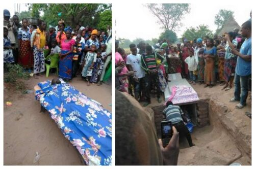 Man buried with bed instead of a coffin in Benue State lailasnews