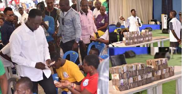 Pastor Jeremiah Omoto Fufeyin Shares ₦30 Million To Church Members To Celebrate Christmas (Photos)