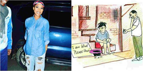 Tonto Dikeh writes on what should happen to online beggars in 2019 lailasnews