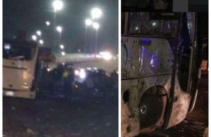 Two dead and 12 injured after bomb attack on tourist bus in Egypt lailasnews