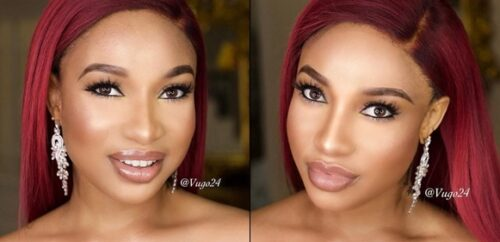 Tonto Dikeh Gushes Over Her Unique Feature In New Photos