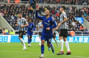 Image result for Chelsea 2 - 1 Newcastle United 2018/19