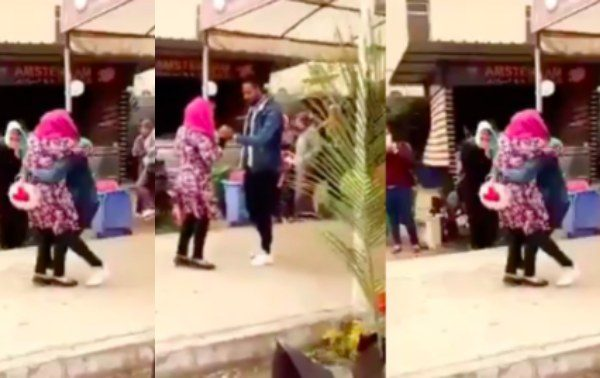 Egypt University expels female student for hugging male student lailasnews