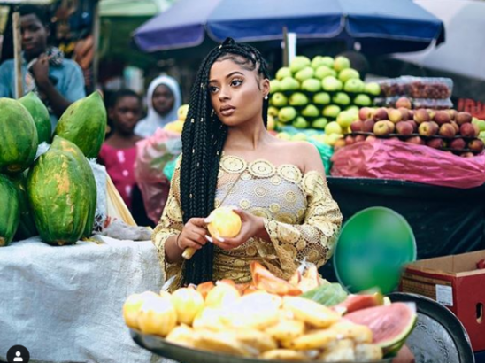 Lola Rae shares photos of her baby with Tekno to celebrate her birthday lailasnews 3
