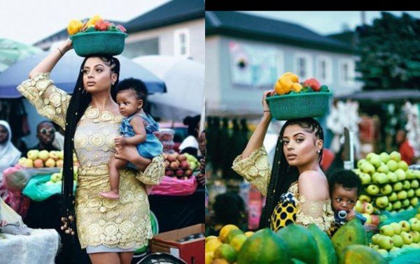 Lola Rae shares photos of her baby with Tekno to celebrate her birthday lailasnews