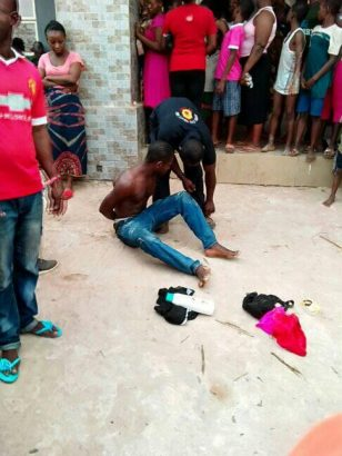 Man caught stealing panties and bras in Anambra State lailasnews 1