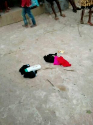 Man caught stealing panties and bras in Anambra State lailasnews 3