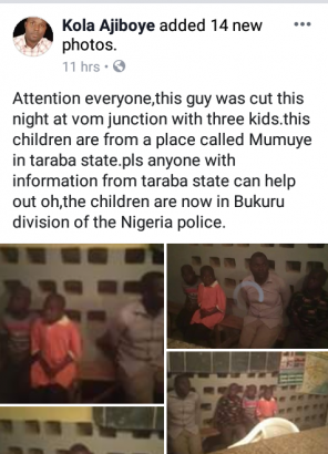 Suspected kidnapper caught with three children in Taraba state lailasnews 1