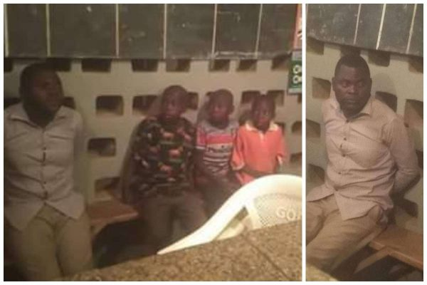 Suspected kidnapper caught with three children in Taraba state lailasnews
