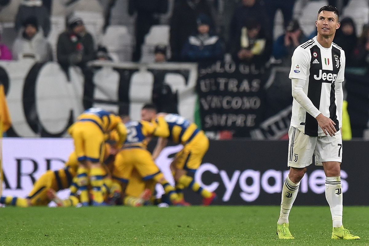 Image result for Juventus 3 - 3 Parma (Serie A) 2018/19