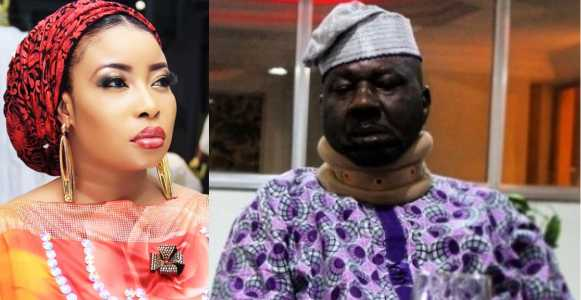 Actress Liz Anjorin replies non fan who accused her of not assisting ailing actor Baba Suwe