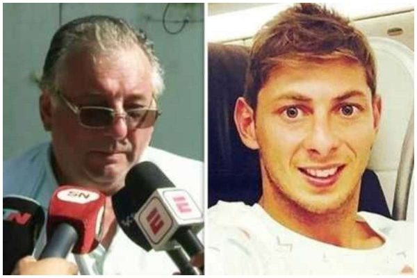 Emiliano Sala's father reacts as plane wreckage is found lailasnews
