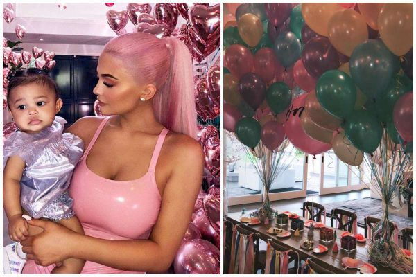 Kylie Jenner's daughter Stormi celebrates first birthday lailasnews