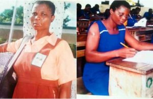 Meet woman who enrolled in Junior High school at age 41 lailasnews 3