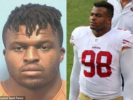 NFL player Lawrence Okoye arrested during a prostitution sting in Alabama