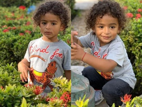 New photos of DJ Khaled's son Asahd looking grown and handsome