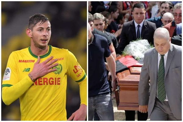 Photos from Emiliano Sala's funeral lailasnews