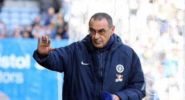 Sarri names the best team currently in England and Europe