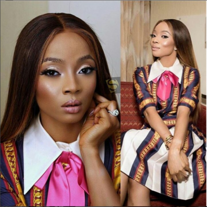 I want to fall deeply in love and makes lots of money - Toke Makinwa