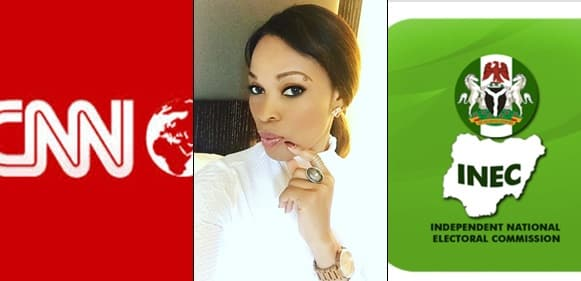 Georgina Onuoha Slams CNN For Not Covering The Nigerian Elections,Says They Have 'No Decorum'