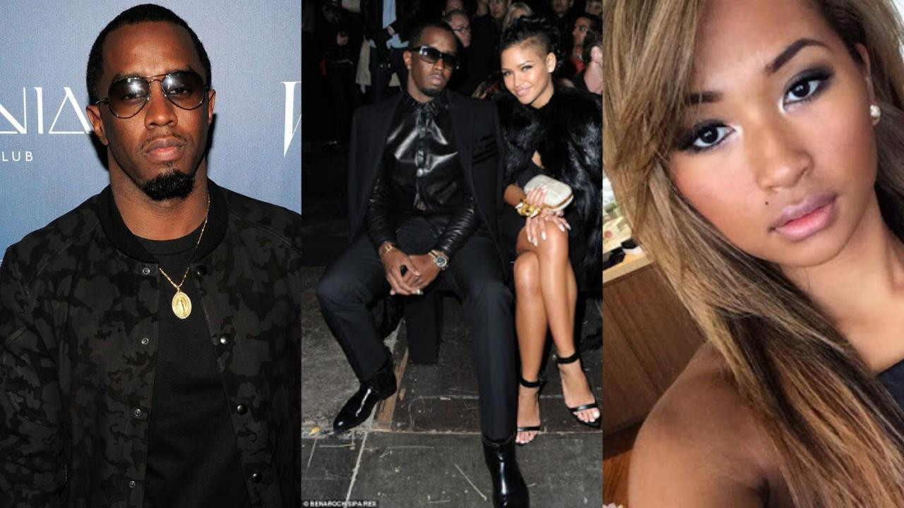Image result for Diddy finds love again in the arms of Floyd Mayweather's ex, Gina Huynh