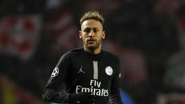 Image result for Neymar charged by UEFA for insulting match official