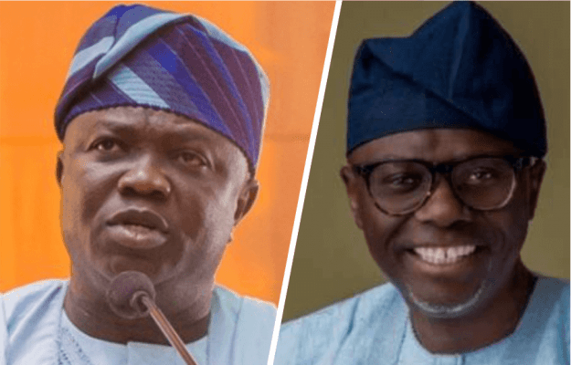 Image result for No rift between Sanwo-Olu and Gov Ambode