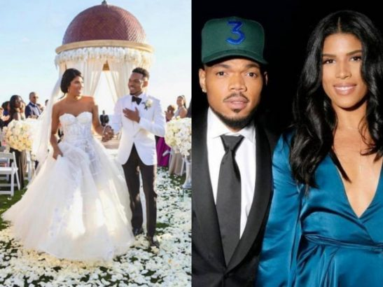 Chance The Rapper gets married to his childhood sweetheart