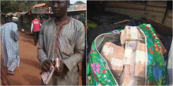 ElectionDay EFCC arrest man for vote buying in Kwara State lailasnews