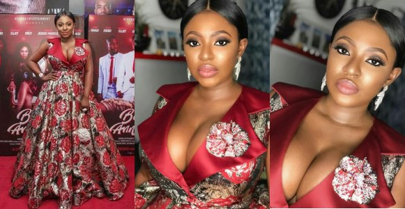 Fans blast Yvonne Jegede for revealing her cleavage (Photos)