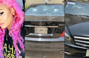 Regina Daniels acquires a new car days after getting her mom a house