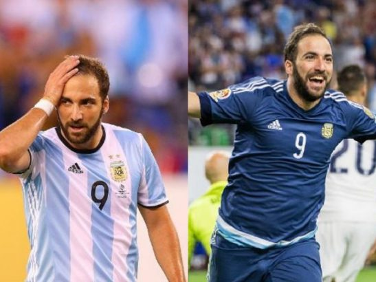 Higuain announces his retirement from Argentine national team