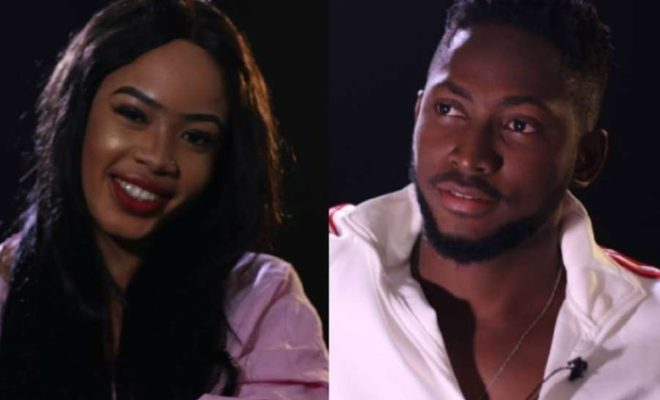Image result for BBNaija Miracle reacts after Nina, Cee-C revealed Alex and Tobi had sex