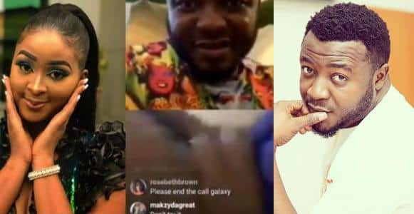 ''Why I couldn't end the Instagram live video with Etinosa when she went naked'' - Mc Galaxy