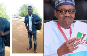Man Begins Trekking From Kebbi To Abuja To Celebrate President Buhari's Re-Election