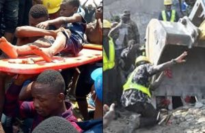 How I Survived After Spending Three Hours Under Lagos Collapsed Building – Survivor