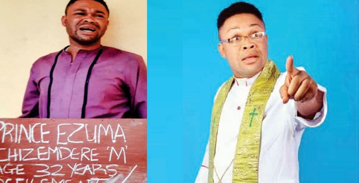 Arrested gay pastor attempts to molest suspect in cell