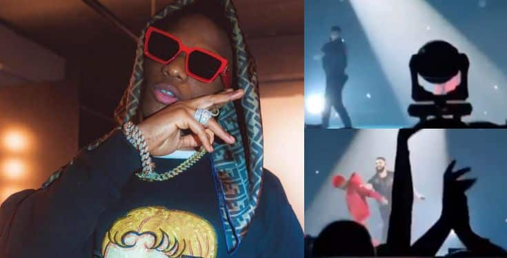Drake brings out Wizkid to perform 'Come Closer' with him at the O2 Arena (Video)