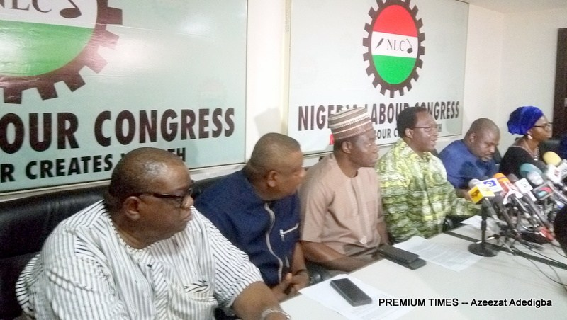 Image result for NLC gives Buhari ultimatum to sign new minimum wage bill