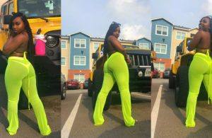 'With this package, my boo will never cheat on me' - Endowed lady brags (Photos)