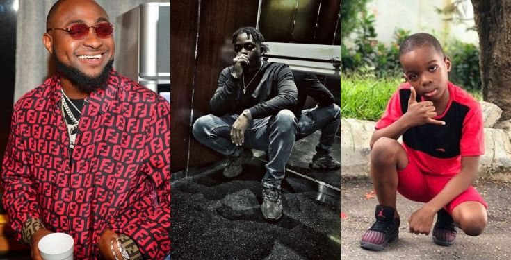 Wizkid's son starts a clothing line, says he wants to style Davido, Olamide, Ycee & Others