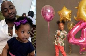 Davido celebrates 1st daughter, Imade on her 4th birthday