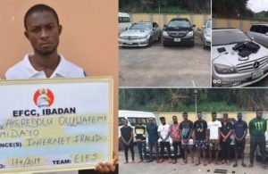 EFCC Arrests 13 Internet Fraudsters In Edo